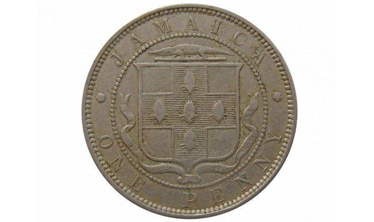 Ямайка 1 пенни 1895 г.