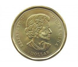 Канада 1 доллар 2016 г. (Олимпийские Игры в Рио-де-Жанейро)