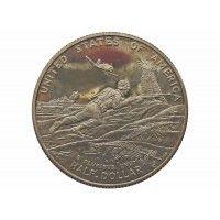 США 1/2 доллара 1993 г. P (50 лет победы во Второй Мировой войне)