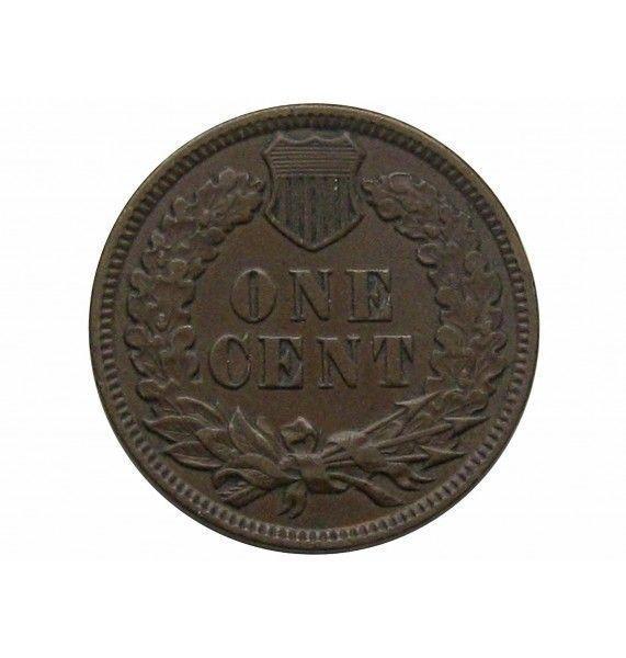 США 1 цент 1880 г.