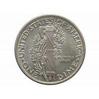 США дайм (10 центов) 1920 г.