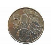 Тринидад и Тобаго 50 центов 1978 г.