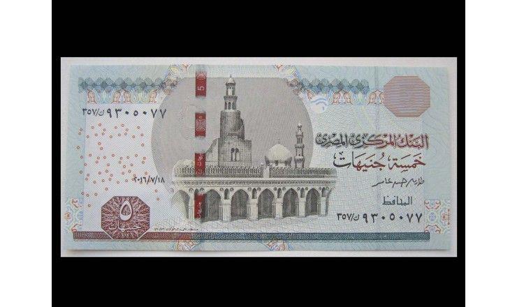 Египет 5 фунтов 2016 г.