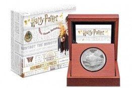 Продолжение серии монет о Гарри Поттере.