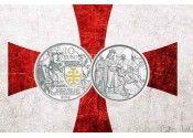 """Новая монета Австрии из серии """"Рыцарские истории""""."""