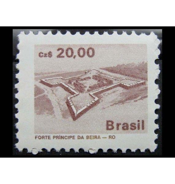 """Бразилия 1987 г. """"Сооружения"""""""