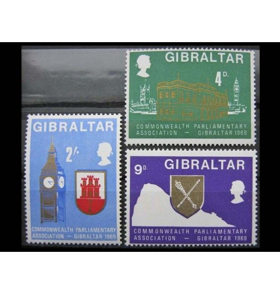 "Гибралтар 1969 г. ""Парламентская ассоциация Содружества"""