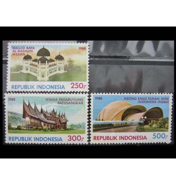 """Индонезия 1988 г. """"Туризм"""""""