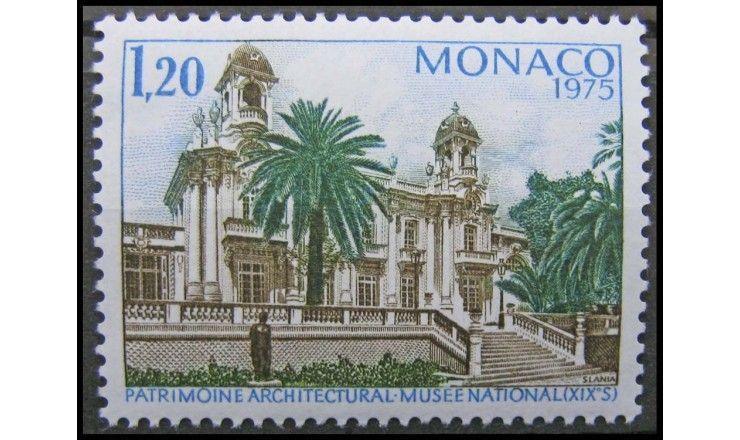 """Монако 1975 г. """"Год европейской архитектуры"""""""