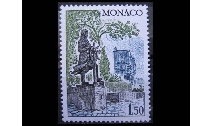 """Монако 1980 г. """"Виды и здания княжества"""""""