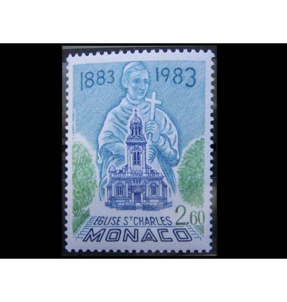"Монако 1983 г. ""100-летие церкви Святого Чарльза"""