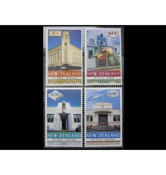 """Новая Зеландия 1999 г. """"Здания в стиле Арт-деко"""""""