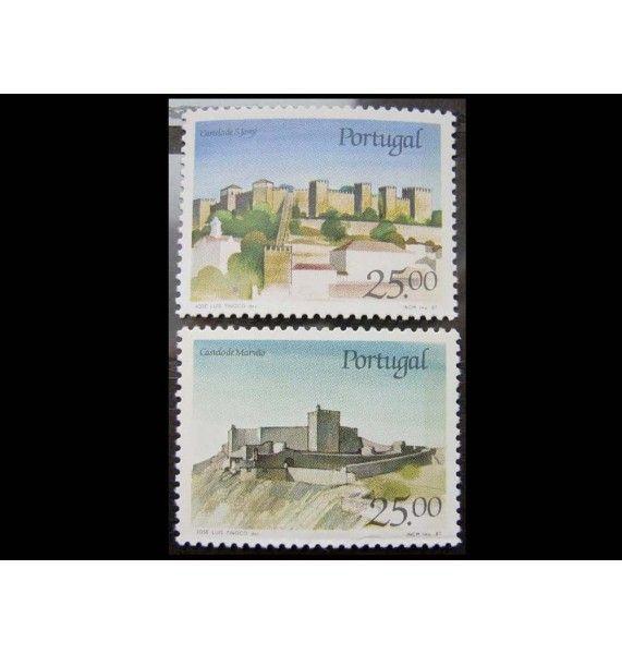 """Португалия 1987 г. """"Португальские замки и дворцы"""""""