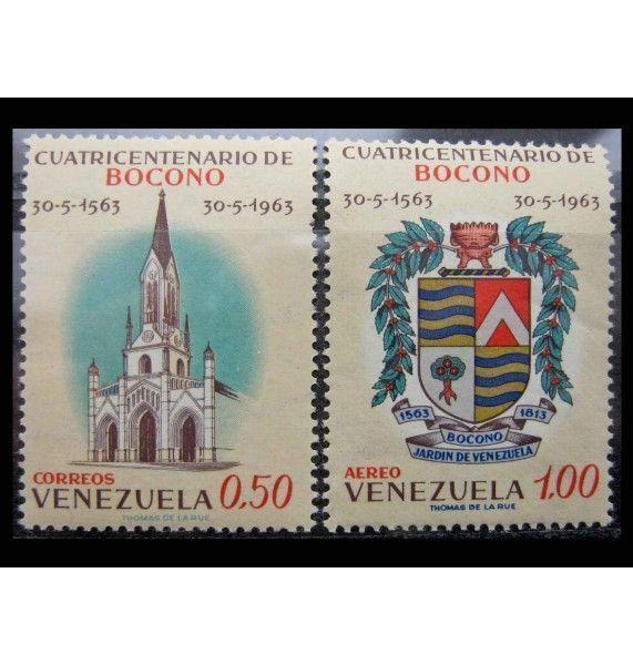 """Венесуэла 1963 г. """"400-летие основания города Боконо, Трухильо"""""""