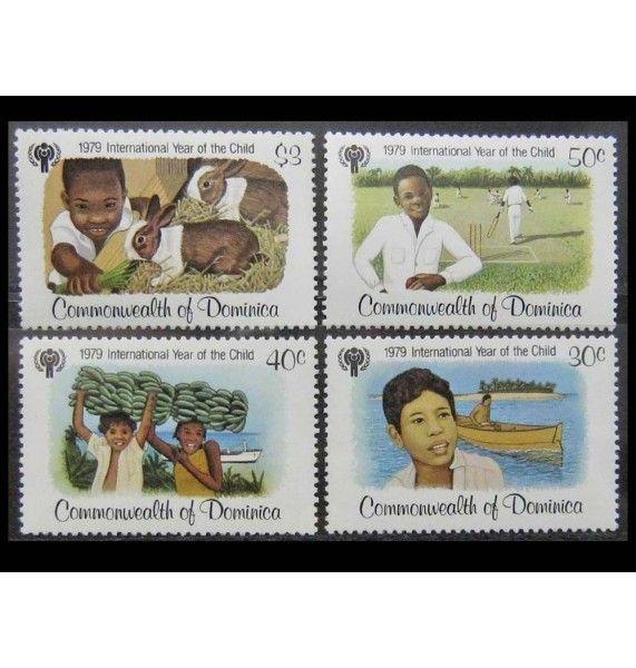 """Доминика 1979 г. """"Международный год ребенка"""""""