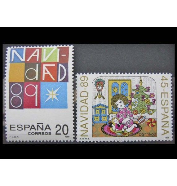 """Испания 1989 г. """"Рождество"""""""