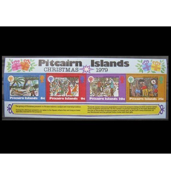 """Острова Питкэрн 1979 г. """"Международный год ребенка"""""""