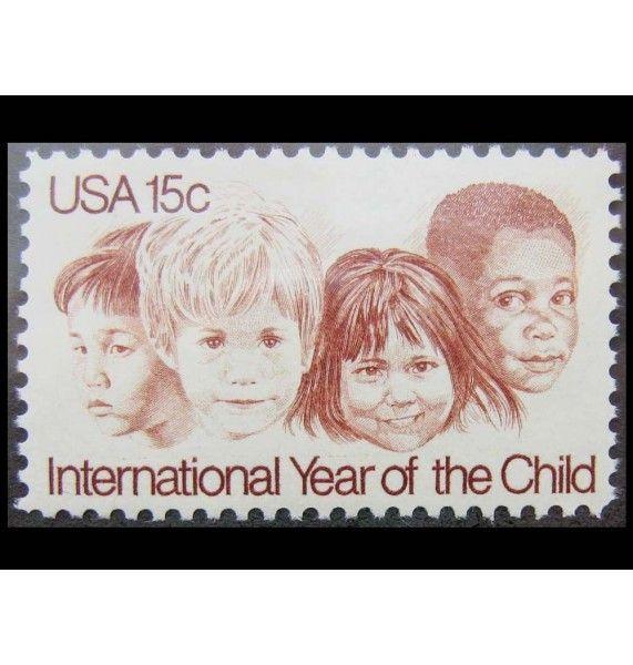 "США 1979 г. ""Международный год ребенка"""