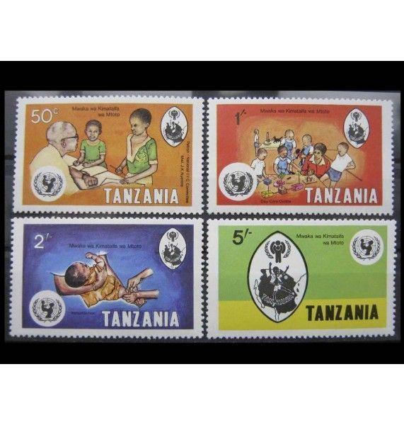 "Танзания 1979 г. ""Международный год ребенка"""