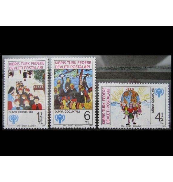 """Турецкий Кипр 1979 г. """"Международный год ребенка"""""""