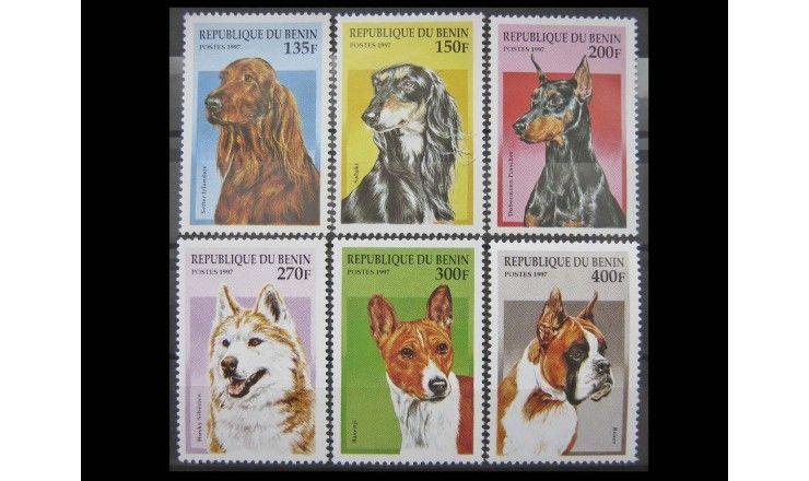 """Бенин 1997 г. """"Породы собак"""""""