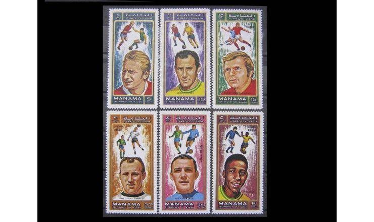 "Манама 1972 г. ""Футболисты"""