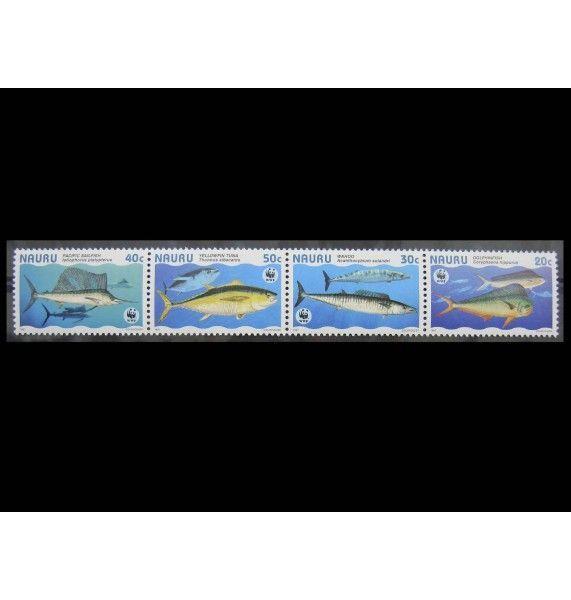 """Науру 1997 г. """"Рыбы"""""""