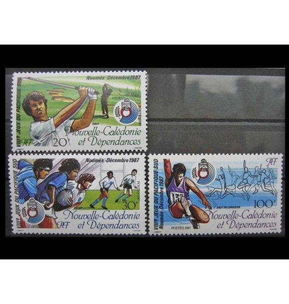 """Новая Каледония 1987 г. """"Южнотихоокеанские игры, Нумея"""""""