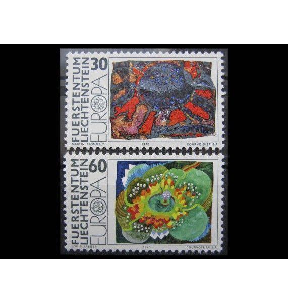 "Лихтенштейн 1975 г. ""Европа: Картины"""