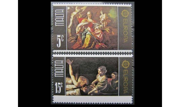 """Мальта 1975 г. """"Европа: Картины"""""""