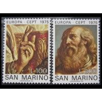 "Сан-Марино 1975 г. ""Европа: Картины"""