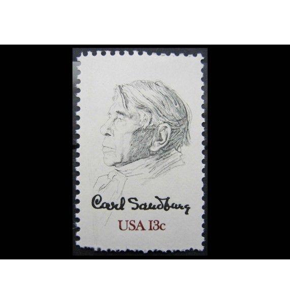 """США 1978 г. """"100-летие Карла Сэндберга"""""""