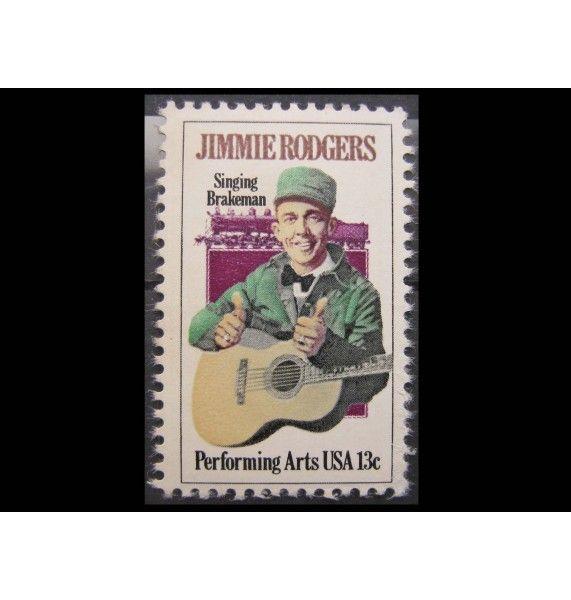 """США 1978 г. """"Джимми Роджерс"""""""