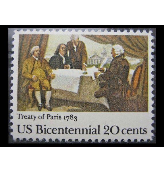 """США 1983 г. """"200-летие независимости; Парижский мирный договор"""""""