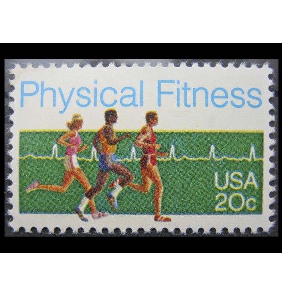 """США 1983 г. """"Физическая подготовка"""""""