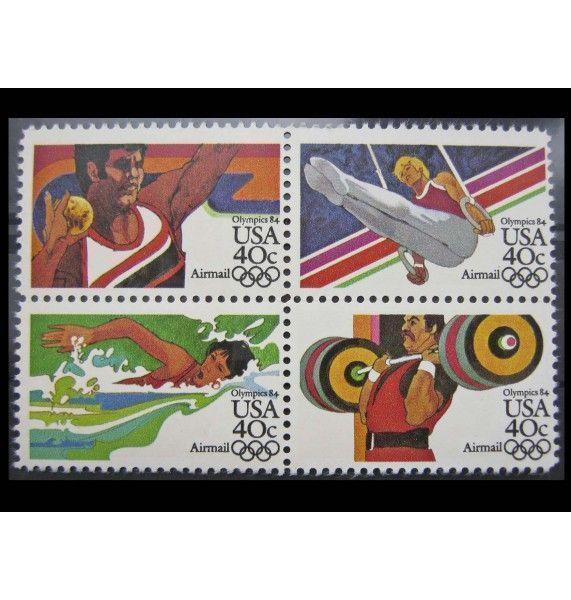 """США 1983 г. """"Летние Олимпийские игры 1984, Лос-Анджелес"""""""