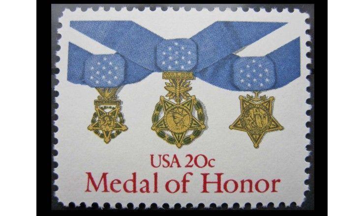"""США 1983 г. """"Медаль за отвагу"""""""