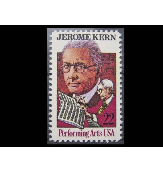 """США 1985 г. """"Джером Керн"""""""