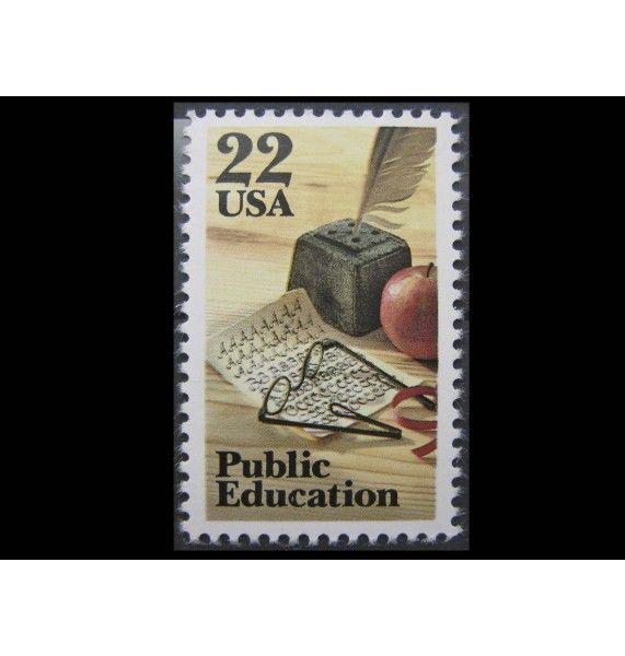 """США 1985 г. """"Общественное образование"""""""