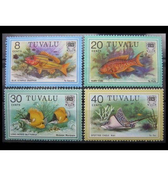 """Тувалу 1979 г. """"Морские рыбы"""""""