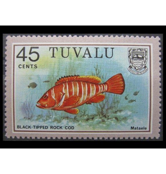 """Тувалу 1981 г. """"Рыбы"""""""