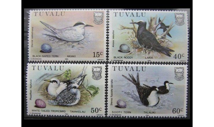 """Тувалу 1985 г. """"Птицы"""""""