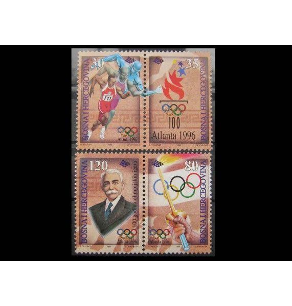 "Босния и Герцеговина 1996 г. ""Летние Олимпийские игры, Атланта"""
