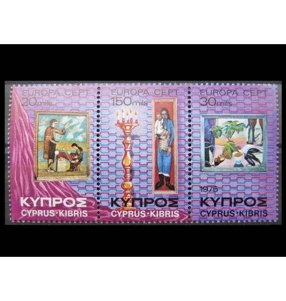 """Кипр 1975 г. """"Европа: Картины"""""""