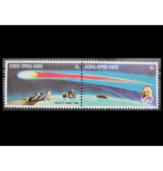 "Кипр 1986 г. ""Комета Галлея"""