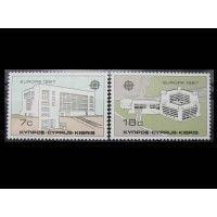 "Кипр 1987 г. ""Европа CEPT: Архитектура модерна"""
