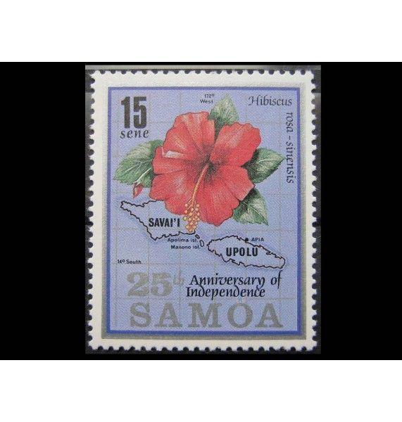 "Самоа 1987 г. ""25-летие независимости"""