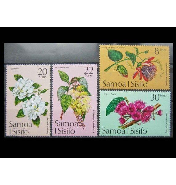 """Самоа и Сисифо 1975 г. """"Тропические цветы"""""""