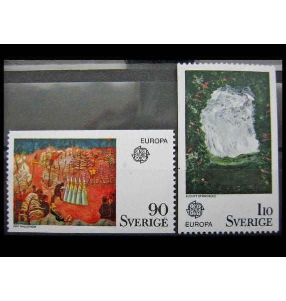 """Швеция 1975 г. """"Европа: Картины"""""""