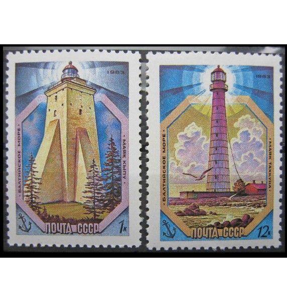 """СССР 1983 г. """"Маяки Балтийского моря"""""""